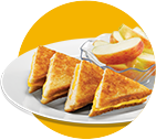Kids Grilled Cheese with Apples